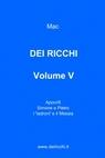 DEI RICCHI – VOLUME V