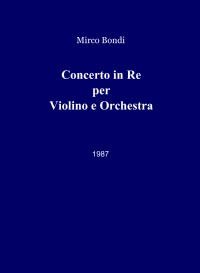 Concerto in Re