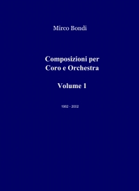 Composizioni per Coro e Orchestra