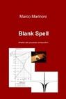 copertina Blank Spell