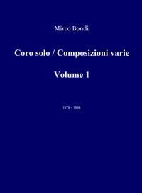 Coro solo / Composizioni varie