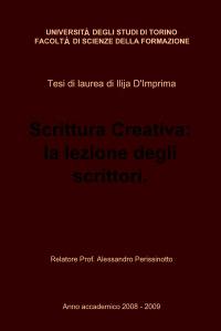Scrittura Creativa: la lezione degli scrittori.