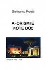 AFORISMI E NOTE DOC