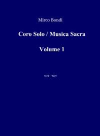 Coro Solo / Musica Sacra