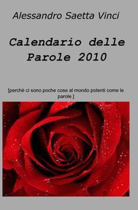 Calendario delle Parole 2010