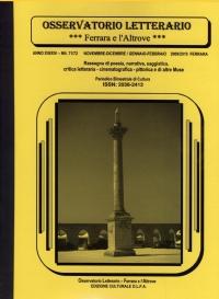 Osservatorio Letterario NN. 71/72