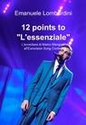 """copertina 12 points to """"L'essenziale"""""""