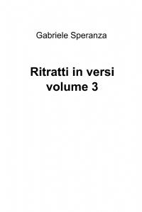 Ritratti in versi volume 3
