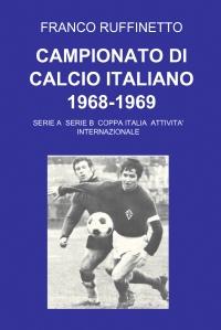 CAMPIONATO DI CALCIO ITALIANO 1968-1969