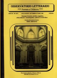 Osservatorio Letterario NN. 69/70