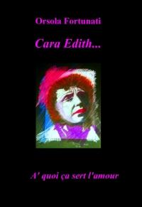 Cara Edith…