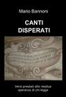 copertina di CANTI DISPERATI