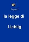 la legge di Lieblig