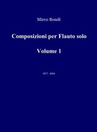 Composizioni per Flauto solo