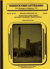 Osservatorio Letterario NN. 67/68