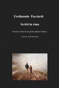 Ferdinando Pacciardi  Scritti in rima