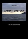 copertina APPUNTI D'ALTURA
