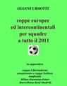 coppe europee ed intercontinentali per squadre...