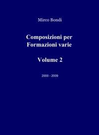 composizioni per formazioni varie vol 2