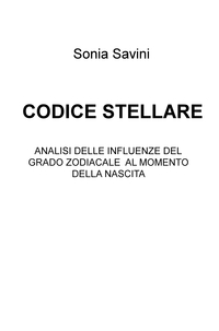 CODICE STELLARE