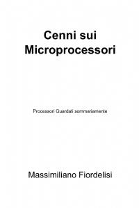 Cenni sui Microprocessori