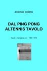 copertina DAL PING PONG AL TENNIS TAVOLO