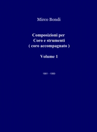 Composizioni per Coro e strumenti