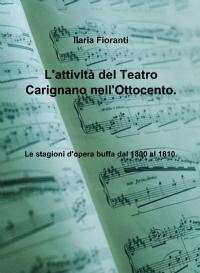 L'attività del Teatro Carignano nell'Ottocento.