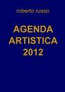copertina AGENDA ARTISTICA 2012