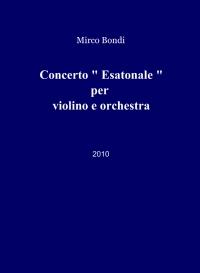 Concerto per violino e orchestra