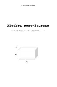 Algebra post-lauream