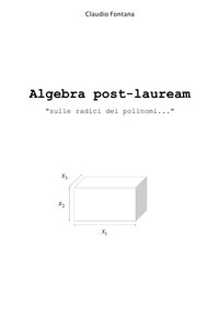 Algebra post-lauream