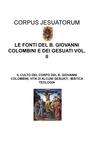 copertina LE FONTI DEL B. GIOVANNI COLOMBINI...