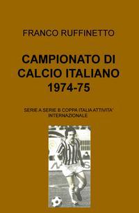 CAMPIONATO DI CALCIO ITALIANO 1974-75