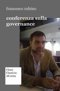 conferenza sulla governance
