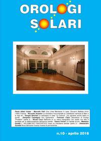 Orologi Solari n. 10