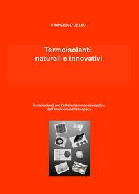 Termoisolanti naturali e innovativi