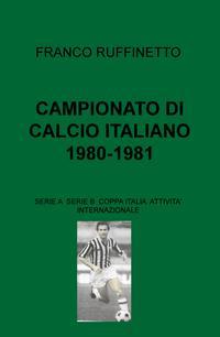 CAMPIONATO DI CALCIO ITALIANO 1980-1981