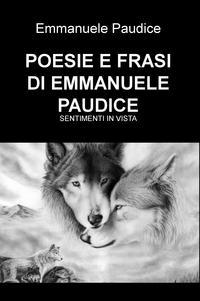 POESIE E FRASI DI EMMANUELE PAUDICE