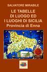 LE TABELLE DI LUOGO ED I LUOGHI DI SICILIA – E...