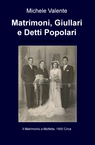 copertina di Matrimoni, Giullari e Detti...