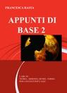 copertina APPUNTI DI BASE 2