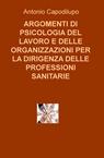 copertina ARGOMENTI DI PSICOLOGIA DEL...
