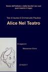 copertina di Alice Nel Teatro