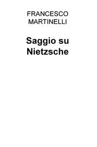 Saggio su Nietzsche