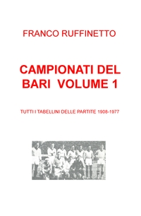 CAMPIONATI DEL BARI VOLUME 1