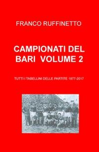 CAMPIONATI DEL BARI VOLUME 2