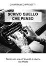 copertina SCRIVO QUELLO CHE PENSO