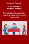 copertina EDUCAZIONE E ALIMENTAZIONE.