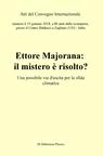 """copertina Atti del convegno """"Ettore M..."""